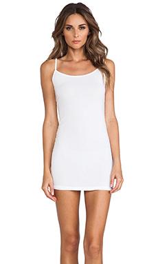 Splendid Layers Cami Dress in White