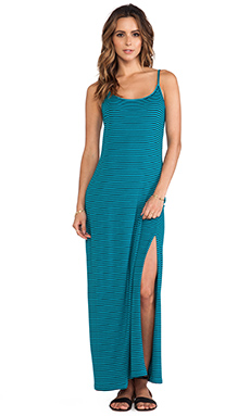 Splendid Striped Maxi Dress in Capri