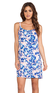 Splendid Desert Rain Tie Dye Dress in Blue Jewel
