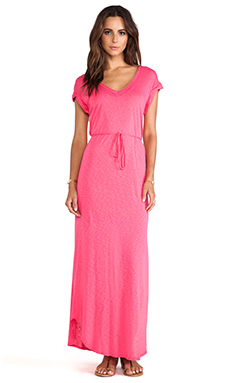 Splendid Maxi Dress in Flamingo