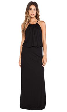 Splendid Halter Dress in Black