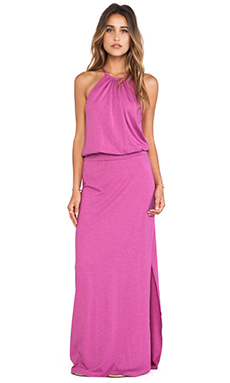 Splendid Halter Dress in Heather Berry