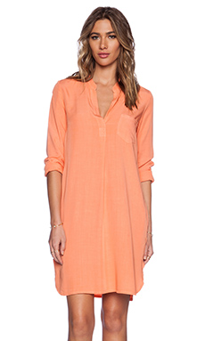Splendid Rayon Voile Dress in Melon