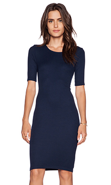 Splendid T Shirt Dress in Navy