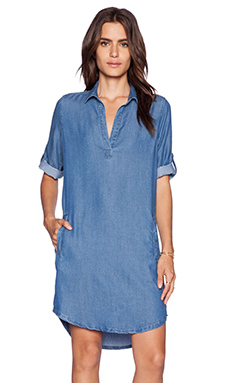 Splendid Indigo Shirting Dress in Medium Wash