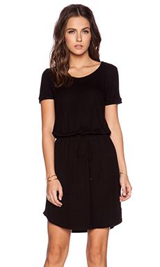 Splendid Short Sleeve Dress in Black
