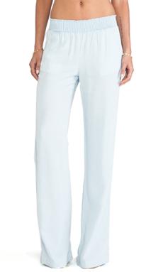 Splendid Indigo Dye Wide Leg Pants in Polar