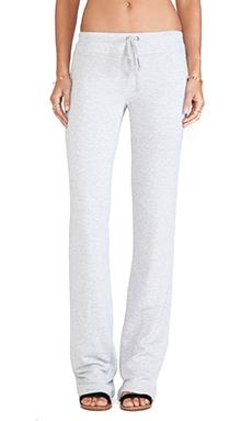 Splendid Flared Lounge Pants in Heather Grey