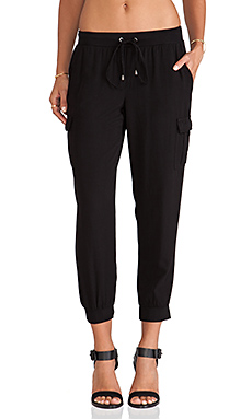 Splendid Cargo Pant in Black