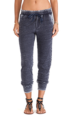 Splendid Enfield Active Burnout Pants in Navy