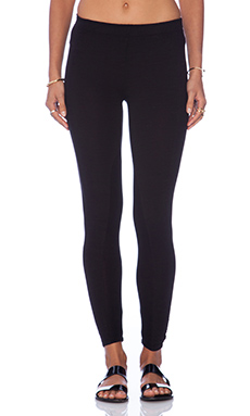 Splendid Downing Street Colorblock Leggings in Black