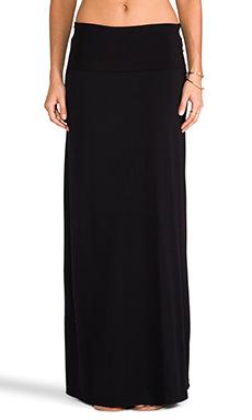 Splendid Maxi Skirt in Black