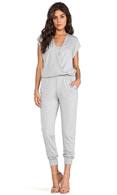 Splendid Jumpsuit in Heather Grey