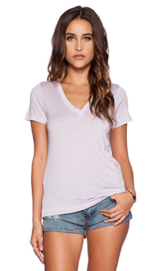 Splendid Very Light Jersey Tee in Lilac