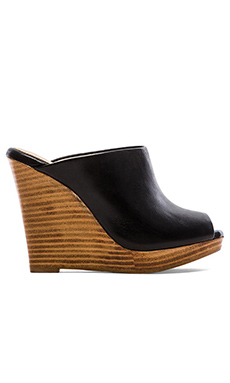 Splendid Brooklin Wedge Sandal in Black