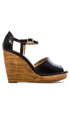 Splendid Davie Wedge Sandal in Black