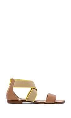 Splendid Congo Flat Sandals in Light Tan