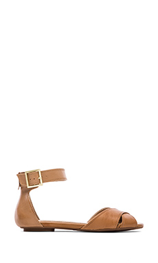Splendid Atlanta Ankle Strap Sandal in Light Whiskey