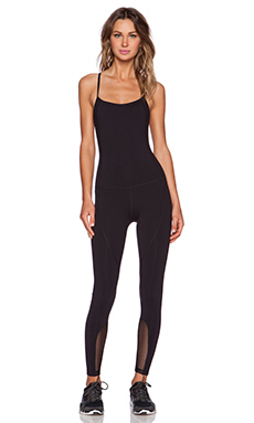 Splits59 Bianca Noir Bodysuit in Black