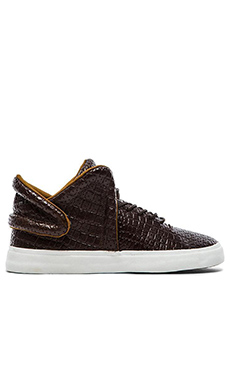 Supra Falcon in Brown Croc