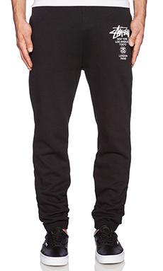 Stussy WT Sweatpants in Black