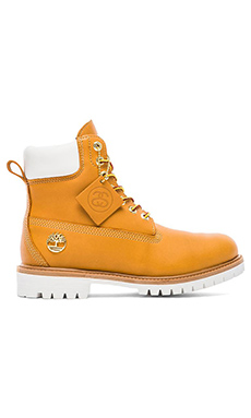 Stussy X Timberland Boot in Wheat