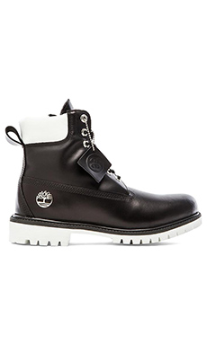 Stussy X Timberland Boot in Black