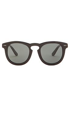 Stussy Luigi Sunglasses in Black & Dark Grey