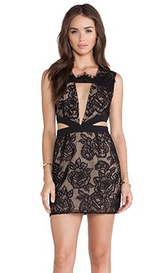 Style Stalker Night Fever Dress in Black