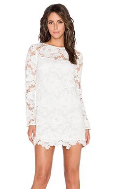 Style Stalker Moss Dress in White
