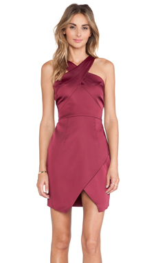 Style Stalker Lean on Me Dress in Pomegranate