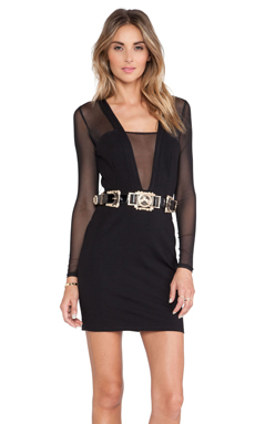 Style Stalker Love Hangover Dress in Black