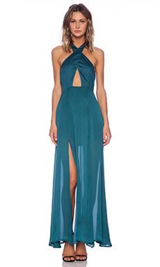 Style Stalker The Queen of the Night Dress in Teal