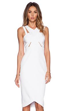 Style Stalker Parallel Dress in White