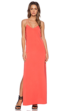 Style Stalker Orchid Maxi Dress in Coral