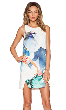Style Stalker Paradise Shift Dress in Bright Floral Print