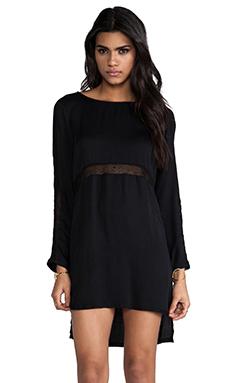 Style Stalker Nothing But Net Dress in Black