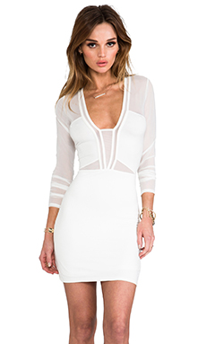 Style Stalker x REVOLVE Seductive Dress in Ivory
