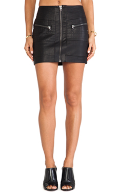 Style Stalker Streets of Fire Mini Skirt on Black