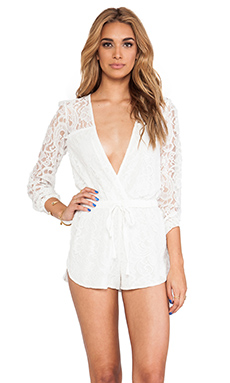 Style Stalker On The Road Romper in White