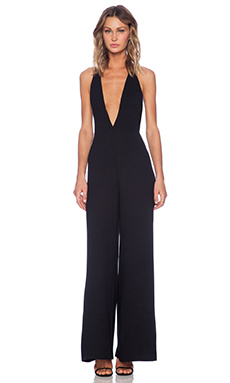 Style Stalker Love Story Jumpsuit in Black