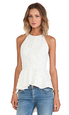 Style Stalker San Fran Top in White