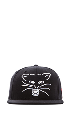 SSUR Plus x Panthers- Panthers Face Snapback in Black