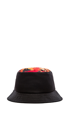 SSUR Great Protector Bucket Hat in Black
