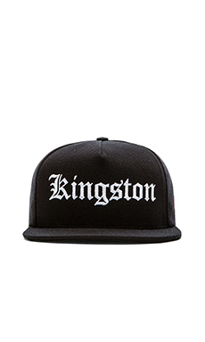 SSUR Kingston Snapback in Black