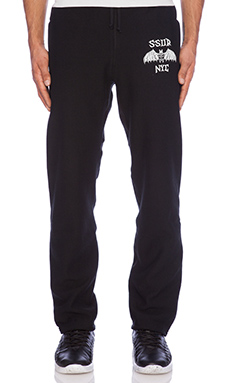 SSUR Bat Sweatpant in Black