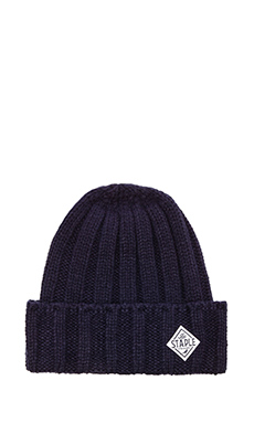 Staple Standard Beanie in Navy