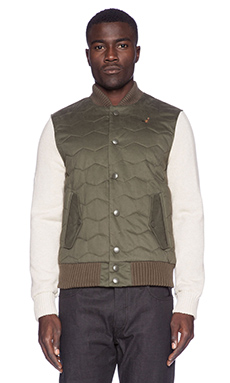 Staple Arcadia Twill Jacket in Terrain