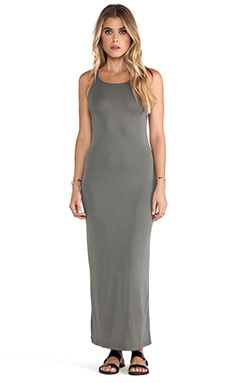 Stateside Maxi Dress in Fern