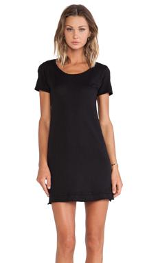 Stateside Short Sleeve Dress in Black